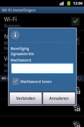 Samsung S5690 Galaxy Xcover - wifi - handmatig instellen - stap 8