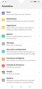 Huawei Mate 20 - Données - créer une sauvegarde avec votre compte - Étape 3