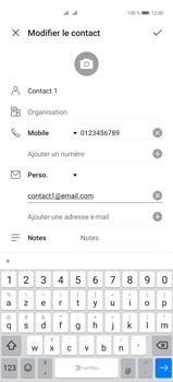 Huawei P40 Pro - Contact, Appels, SMS/MMS - Ajouter un contact - Étape 11