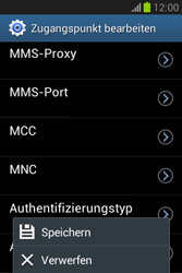 Samsung Galaxy Fame Lite - Internet und Datenroaming - Manuelle Konfiguration - Schritt 16