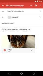 LG Google Nexus 5X - E-mail - envoyer un e-mail - Étape 14