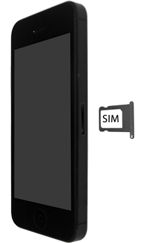Apple iPhone SE - iOS 13 - Toestel - simkaart plaatsen - Stap 4