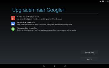 Sony Xperia Tablet Z2 4G (SGP521) - Applicaties - Account aanmaken - Stap 21