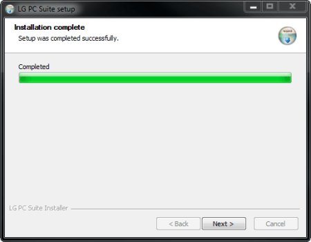 LG G3 - Software - Installing PC synchronisation software - Step 9