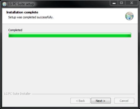 LG D955 G Flex - Software - Installing PC synchronisation software - Step 9