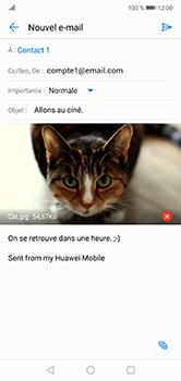 Huawei P20 lite - E-mails - Envoyer un e-mail - Étape 16