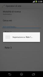 Sony Xperia Z1 - Rete - Selezione manuale della rete - Fase 9