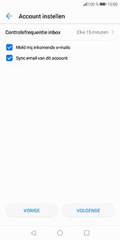 Huawei P Smart (Model FIG-LX1) - E-mail - Account instellen (POP3 zonder SMTP-verificatie) - Stap 18