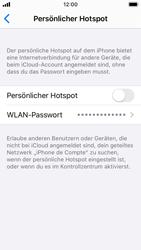 Apple iPhone SE - iOS 13 - WiFi - So aktivieren Sie einen WLAN-Hotspot - Schritt 4