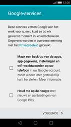 Huawei P8 - apps - account instellen - stap 14