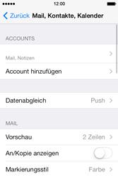 Apple iPhone 4 S - E-Mail - Konto einrichten - 15 / 29