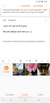 Samsung galaxy-note-9-sm-n960f - E-mail - Bericht met attachment versturen - Stap 13