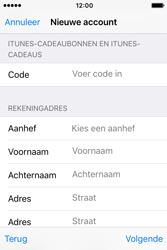 Apple iPhone 4S (iOS 9) - apps - account instellen - stap 20
