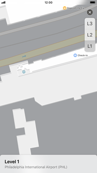 Apple iPhone 6s Plus - iOS 11 - Indoor-Karten (Einkaufszentren/Flughäfen) - 9 / 12