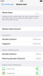Apple iPhone 6 Plus - iOS 8 - Internet und Datenroaming - Prüfen, ob Datenkonnektivität aktiviert ist - Schritt 4