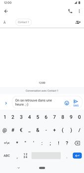 Google Pixel 3a - Contact, Appels, SMS/MMS - Envoyer un SMS - Étape 8