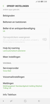 Samsung galaxy-note-8-sm-n950f-android-oreo - Voicemail - Handmatig instellen - Stap 6
