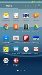 Samsung I9300 Galaxy S III - E-Mail - Konto einrichten (gmail) - Schritt 3