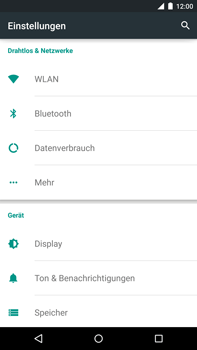 Motorola Google Nexus 6 - Internet - Apn-Einstellungen - 0 / 0