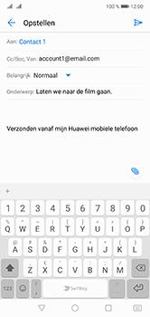 Huawei P20 Lite Dual-SIM (Model ANE-LX1) - E-mail - Hoe te versturen - Stap 8