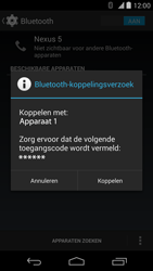 LG D821 Google Nexus 5 - Bluetooth - headset, carkit verbinding - Stap 7