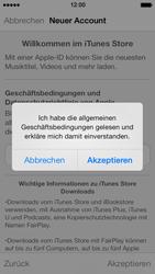 Apple iPhone 5 - Apps - Konto anlegen und einrichten - 22 / 36