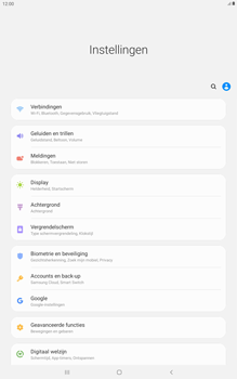 Samsung galaxy-tab-a-10-5-sm-t595-android-pie - Internet - Uitzetten - Stap 4