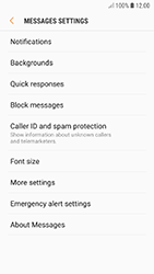 Samsung A320F Galaxy A3 (2017) - Android Oreo - SMS - Manual configuration - Step 6