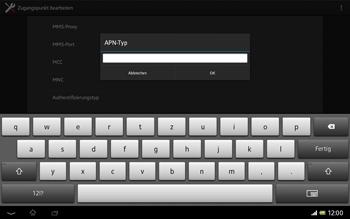 Sony Xperia Tablet Z LTE - MMS - Manuelle Konfiguration - 14 / 20