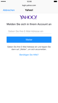 Apple iPhone 6s Plus - E-Mail - Konto einrichten (yahoo) - 2 / 2