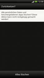 HTC Z520e One S - Fehlerbehebung - Handy zurücksetzen - Schritt 10