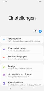 Samsung Galaxy Note9 - Android Pie - Netzwerk - Manuelle Netzwerkwahl - Schritt 4
