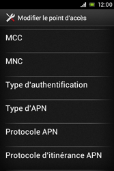 Sony ST21i Xperia Tipo - Internet - Configuration manuelle - Étape 13