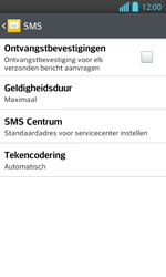 LG P710 Optimus L7 II - SMS - handmatig instellen - Stap 7
