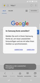 Samsung Galaxy S8 - Internet und Datenroaming - Verwenden des Internets - Schritt 12