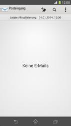 Sony Xperia Z1 Compact - E-Mail - Konto einrichten - 4 / 21
