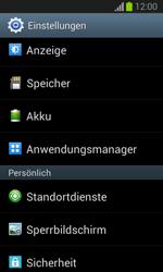 Samsung Galaxy Trend Lite - Apps - Eine App deinstallieren - Schritt 4