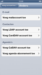 Apple iPhone 5 - E-mail - Handmatig instellen - Stap 6