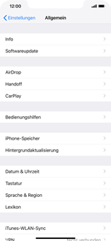 Apple iPhone XR - Software - Installieren von Software-Updates - Schritt 6