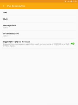 Samsung T815 Galaxy Tab S2 9.7 - SMS - Configuration manuelle - Étape 7