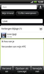 HTC S510e Desire S - e-mail - hoe te versturen - stap 11