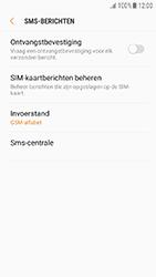 Samsung Galaxy J3 (2017) - SMS - Handmatig instellen - Stap 8