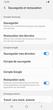 Samsung Galaxy S9 Android Pie - Données - Créer une sauvegarde avec votre compte - Étape 7
