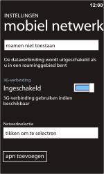 Nokia Lumia 900 - netwerk en bereik - gebruik in binnen- en buitenland - stap 8