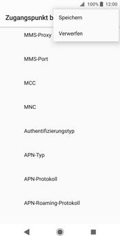 Sony Xperia XZ2 - MMS - Manuelle Konfiguration - Schritt 15