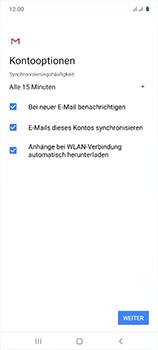 Samsung Galaxy A51 - E-Mail - 032b. Email wizard - Yahoo - Schritt 12