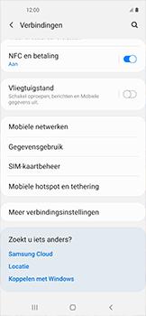Samsung galaxy-xcover-pro-sm-g715fn - WiFi - Mobiele hotspot instellen - Stap 5