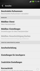 HTC One Mini - Anrufe - Rufumleitungen setzen und löschen - Schritt 5