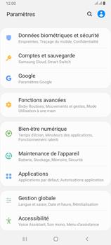 Samsung Galaxy A80 - Sécuriser votre mobile - Personnaliser le code PIN de votre carte SIM - Étape 4