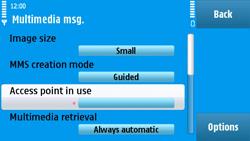 Nokia N97 - MMS - Manual configuration - Step 22